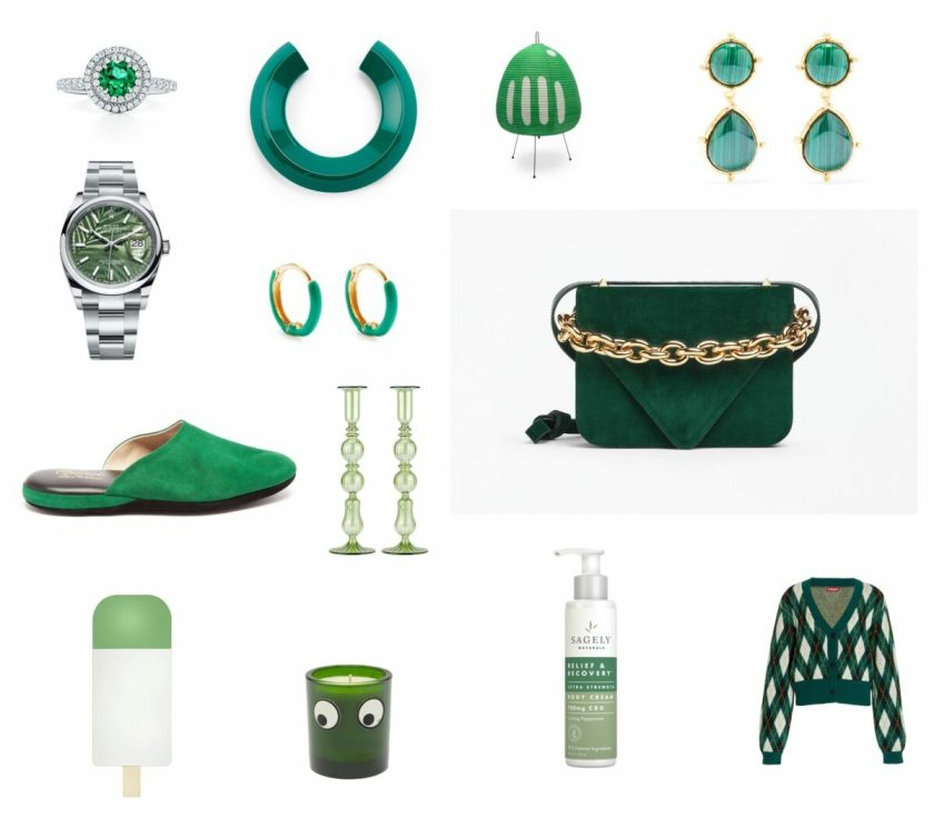 Our 2021 guide to best Christmas holiday gifts in every favorite shade of green.