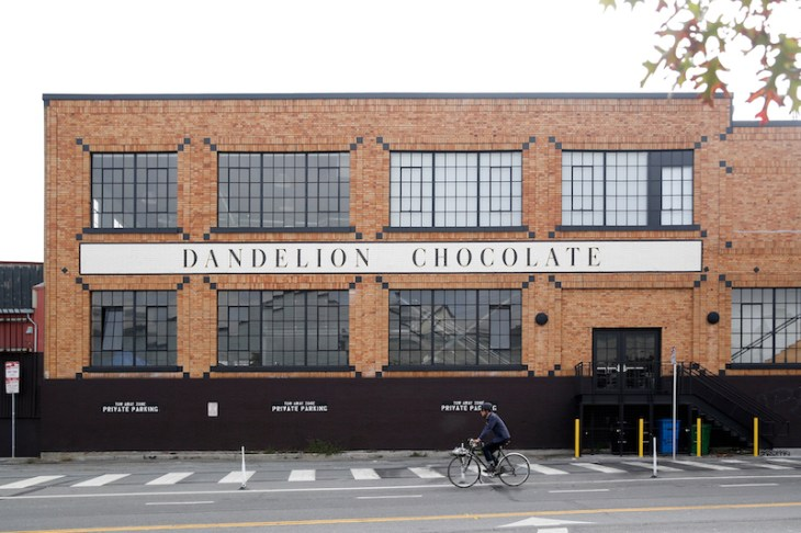 Dandelion Chocolate 16th Street Factory outdoor view