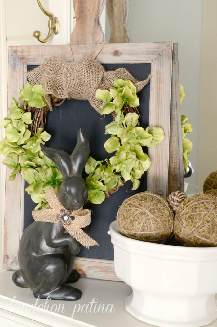spring wreath tutorial vignette