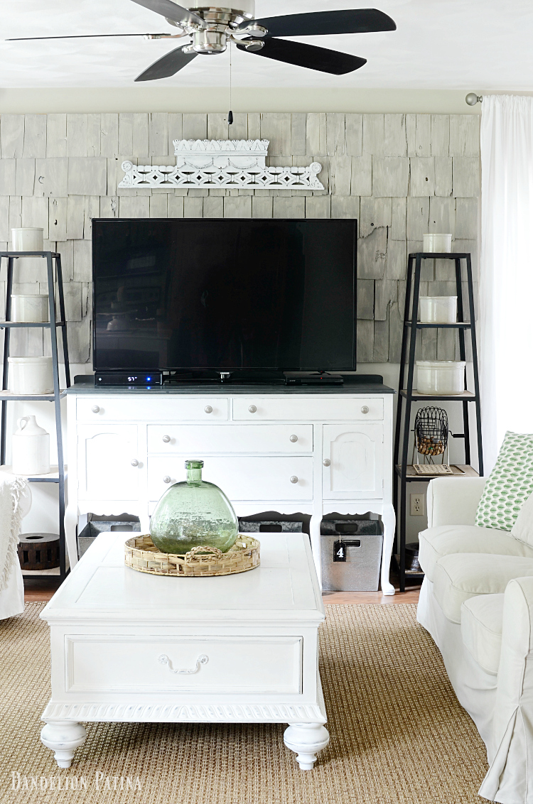 Our cozy farmhouse style living room  Dandelion Patina