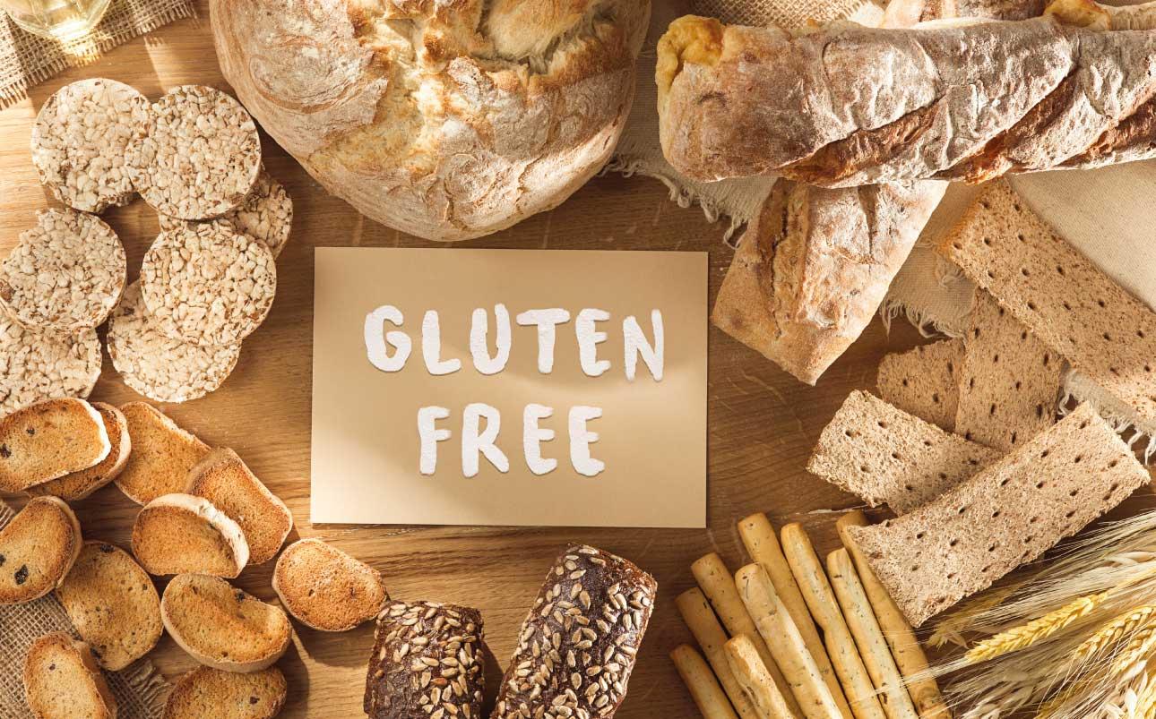 Pan y productos sin gluten