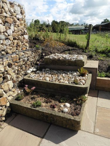 Stone Troughs Water Feature