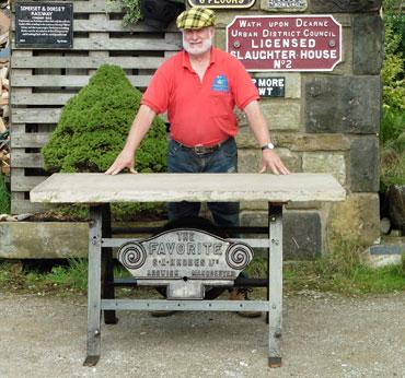 Vintage Industrial Tables