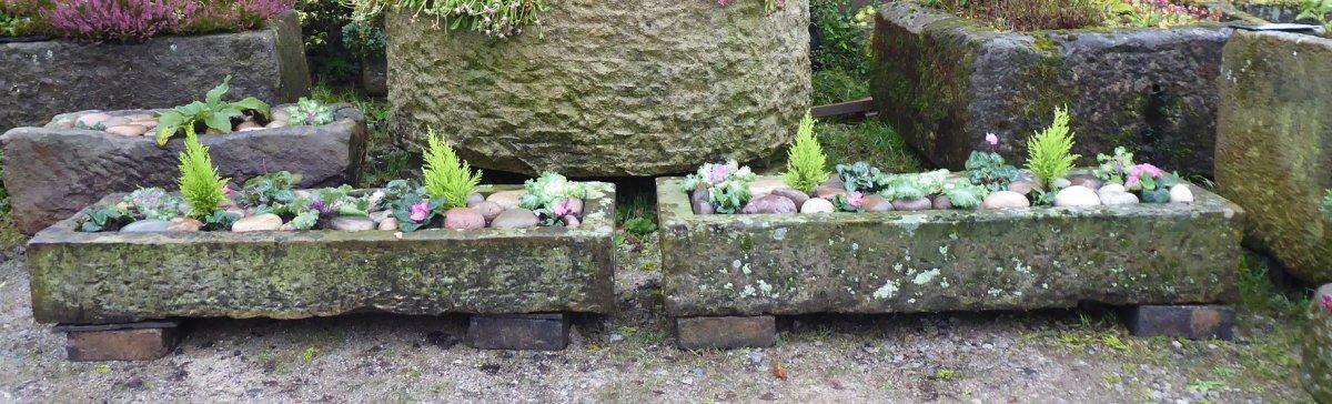 York Stone Troughs