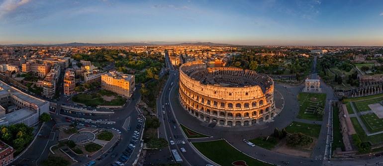 La libert di fotografare il panorama in Italia esiste