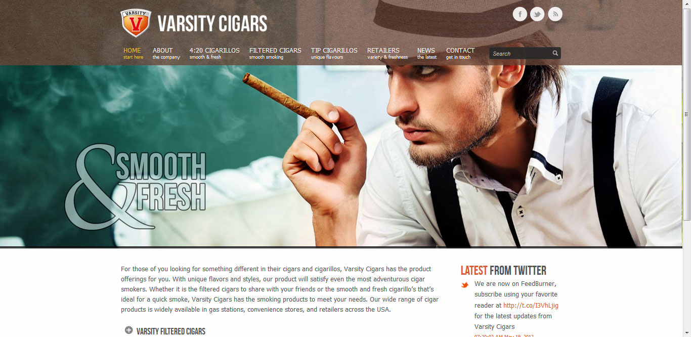 Varsity Cigars by DDA