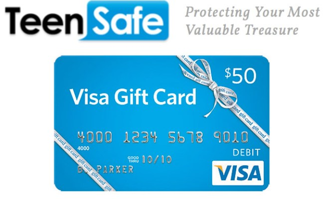 Keep Your Teens Safe On The Their Phones 50 Visa Gift