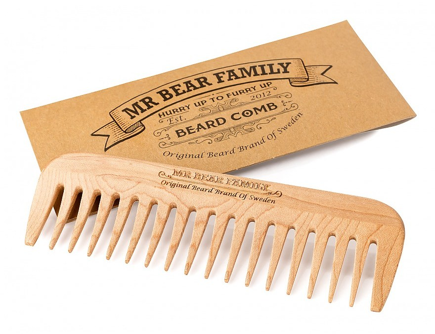 VaS #04 – Mr Bear Family Beard Comb