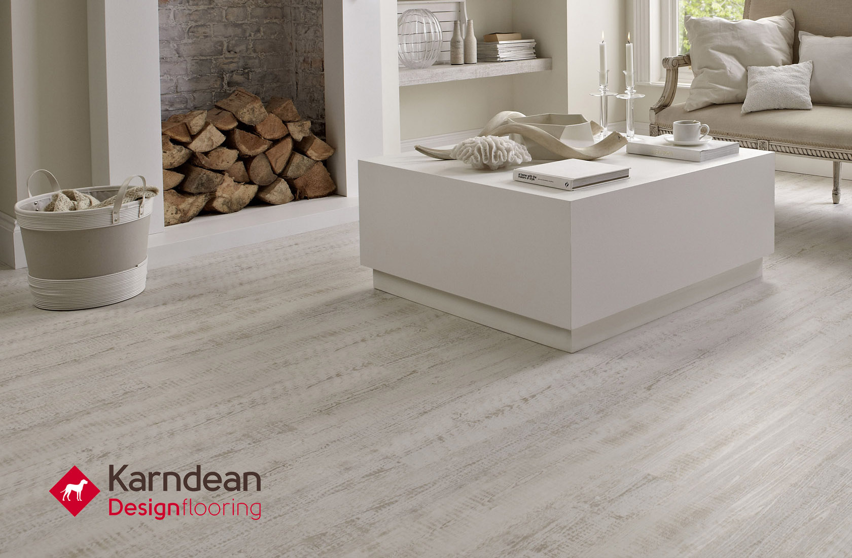 Karndean flooring is ideal in any room of the home