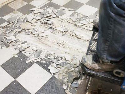 danek-floor-removal