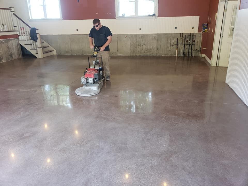 Polished Concrete - Danek Flooring Inc.   Flooring Contractor Western MA