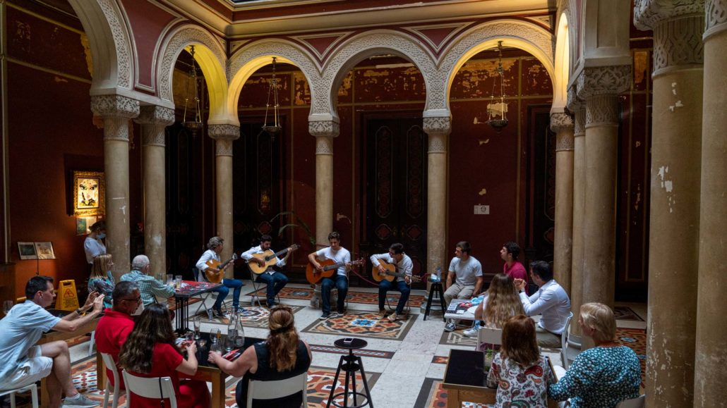 Distanced concerts in Lisboa