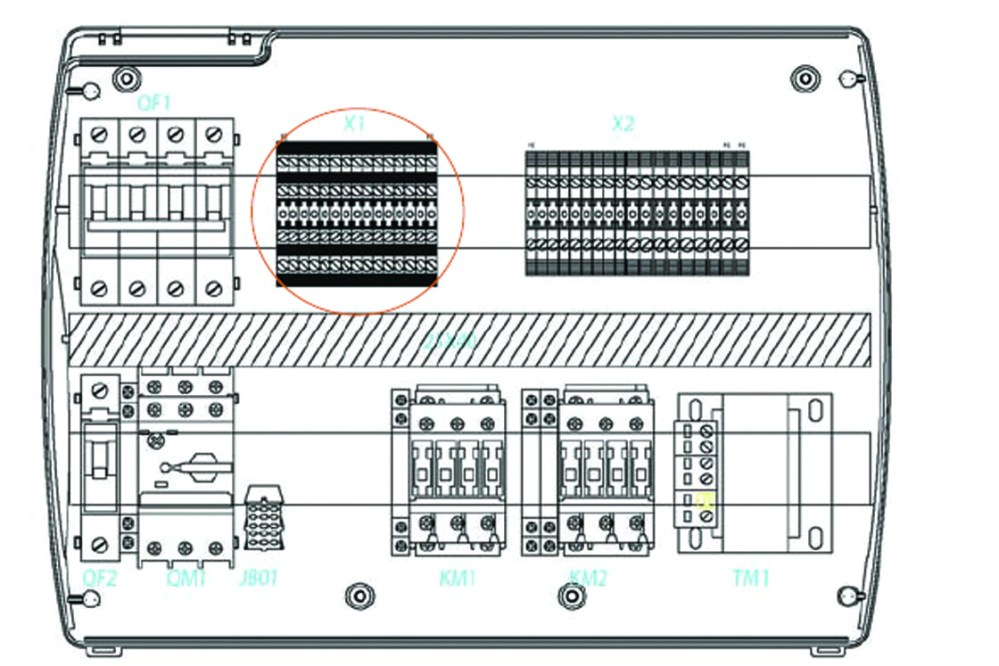 medium resolution of the au parameter must never be set at 4 as the pump down function is made electro mechanically inside the panel