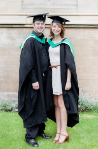 Me and Kat after our graduation