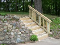Vandevelde | Outdoor Steps Remodel | L. Dan French Builders