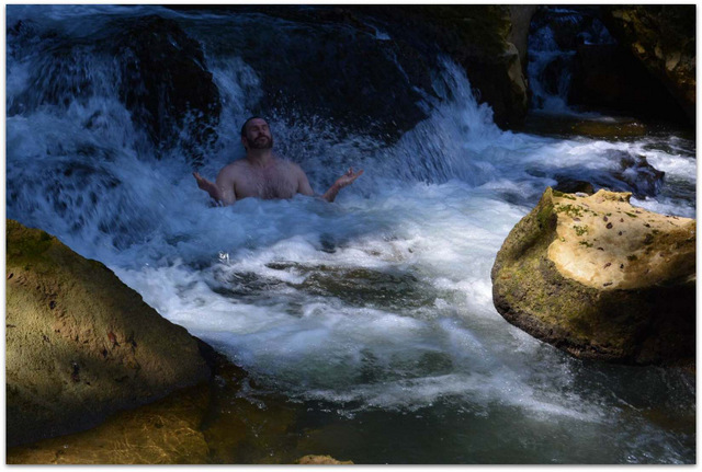 Mike-cernovich-meditation-in-waterfall