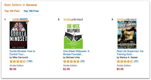 Gorilla Mindset Best Seller.19 AM