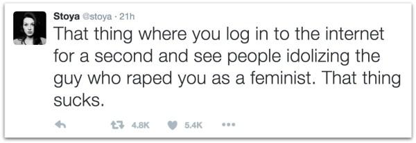 Stoya rape James Deen.25 AM