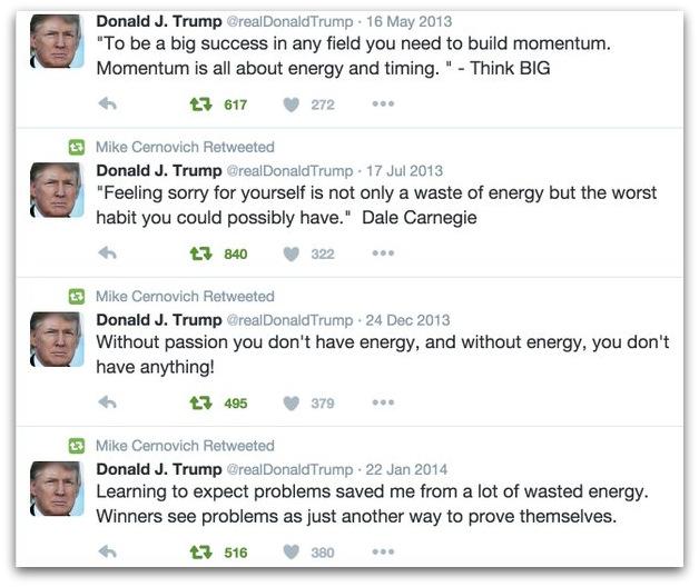 Donald Trump energy