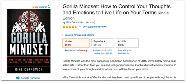 Gorilla Mindset reviews by Mike Cernovich.35 AM