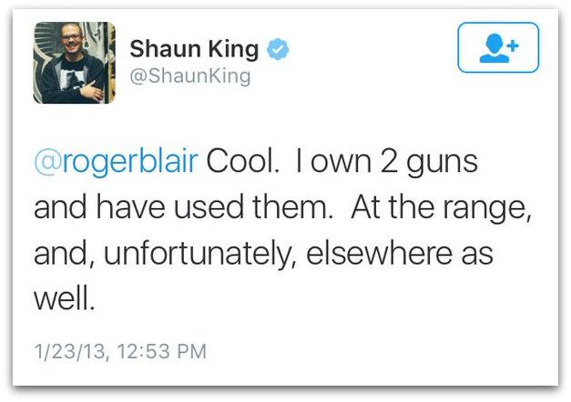 Shaun King thug life