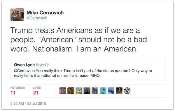 Trump nationalism
