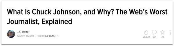 Chuck Johnson Got News Journalist.23 PM