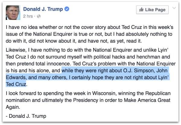 Donald Trump Ted Cruz Sex Scandal.23 PM