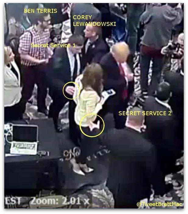 Michelle Fields Corey Lewandowski assault