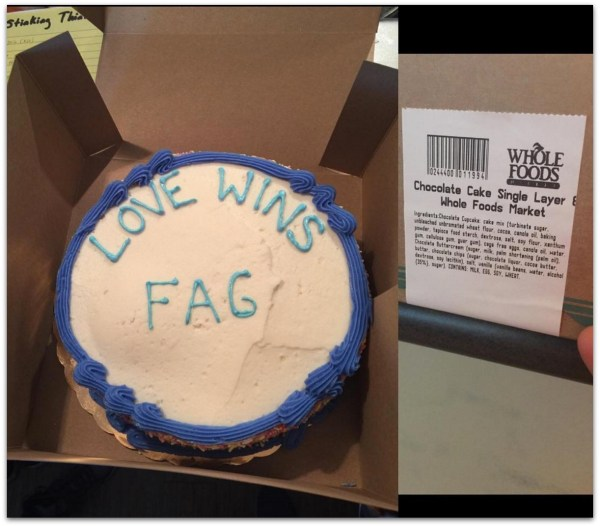 Austin preacher gay cake whole foods.23 PM