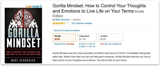 Mike Cernovich Gorilla Mindset reviews.52 AM