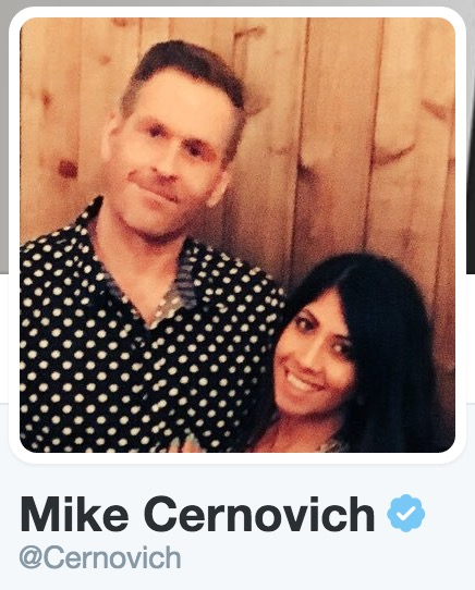 Mike Cernovich Twitter verified profile