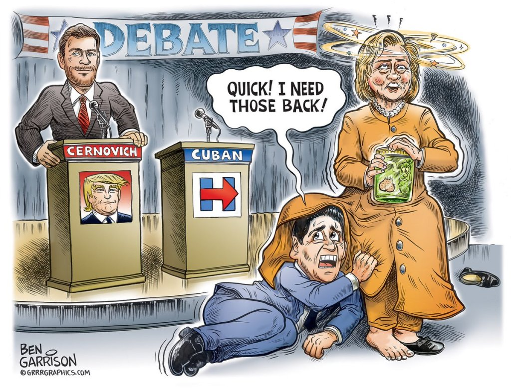 mark-cuban-donald-trump-mike-cernovich-hillary-clinotn-debate