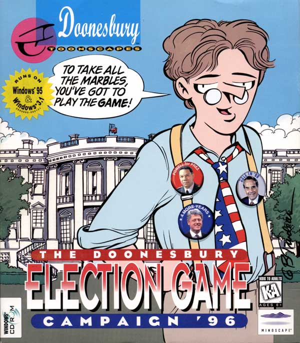 Doonesbury Election (Front)
