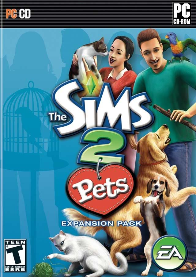 Sims 2 Pets (Front)