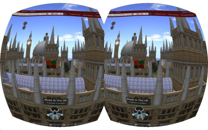 Second Life Oculus Rift