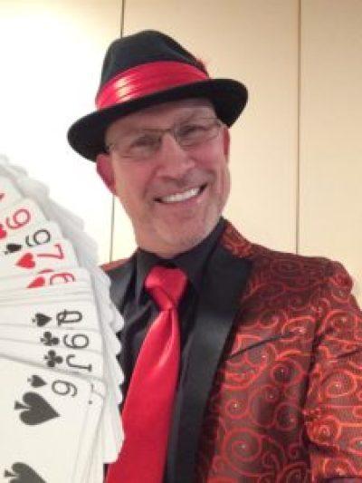 Contact Robert for magic performance