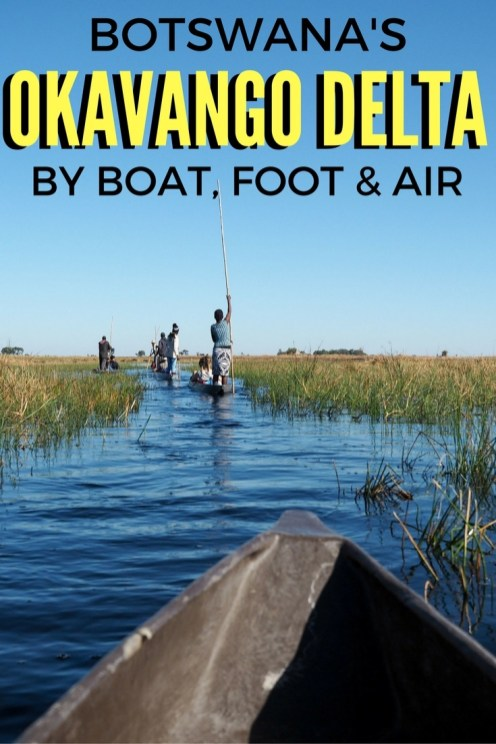 The Okavango Delta Three Ways: By Boat, Foot, and Air