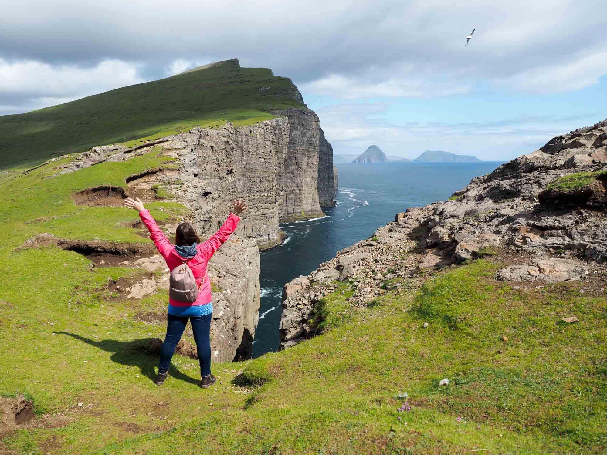 Amanda and Pacsafe in the Faroe Islands
