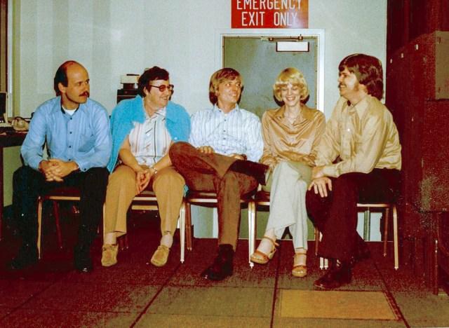 Long Beach Police Department Communications Supervisors circa 1980