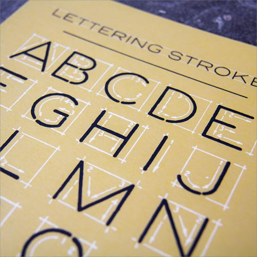 Lettering Strokes