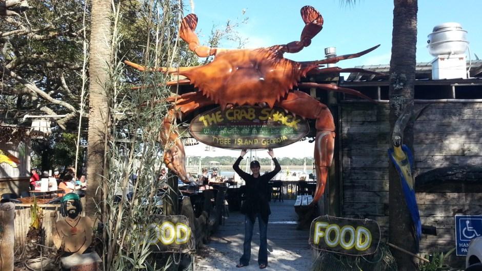 The Crab Shack in Tybee Island, GA