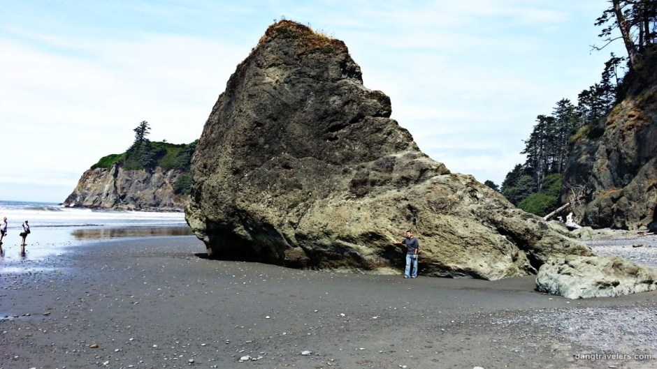 Dave at Rialto Beach - Olympic National Park