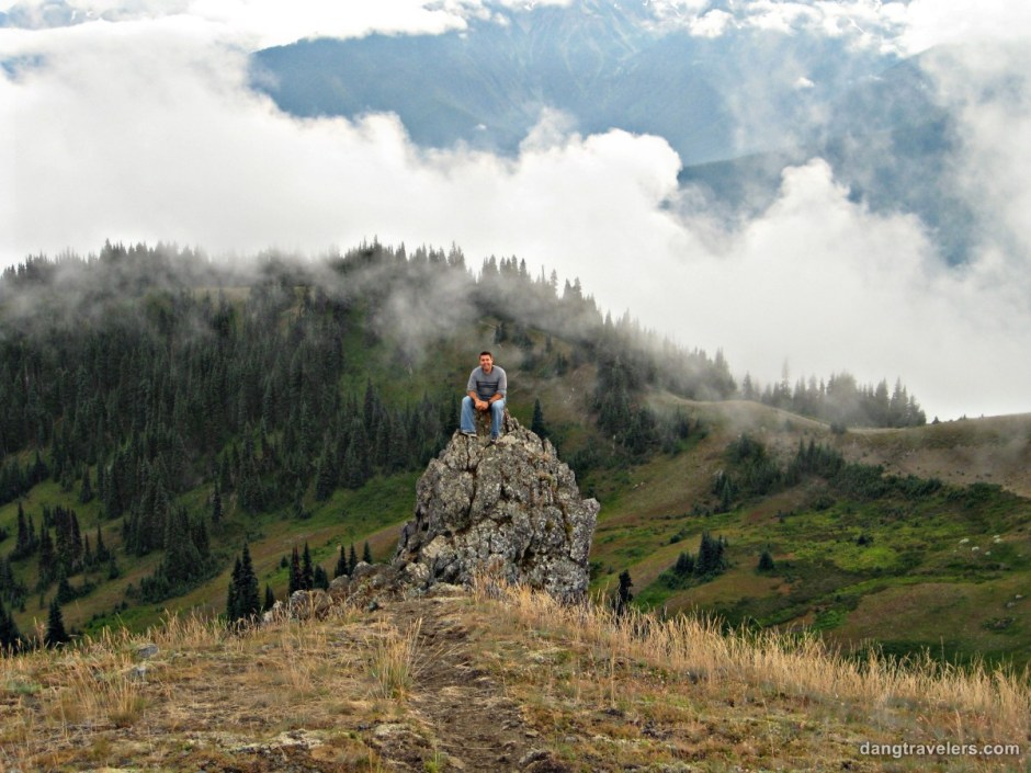 Dave in Olympic National Park