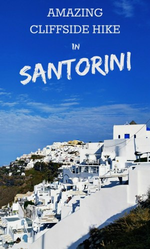 Amazing Hike in Santorini