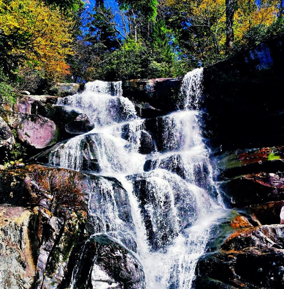 Ramsey Cascades in Smoky Mountains