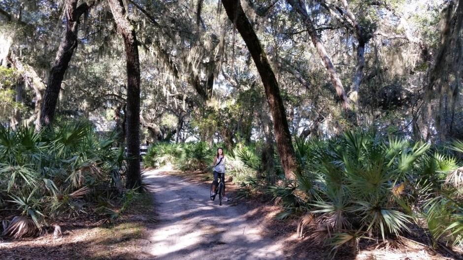 Cumberland Island Biking