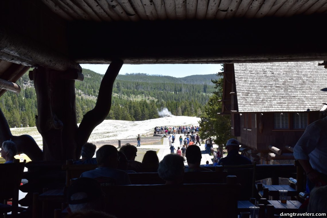 Old Faithful Inn Deck