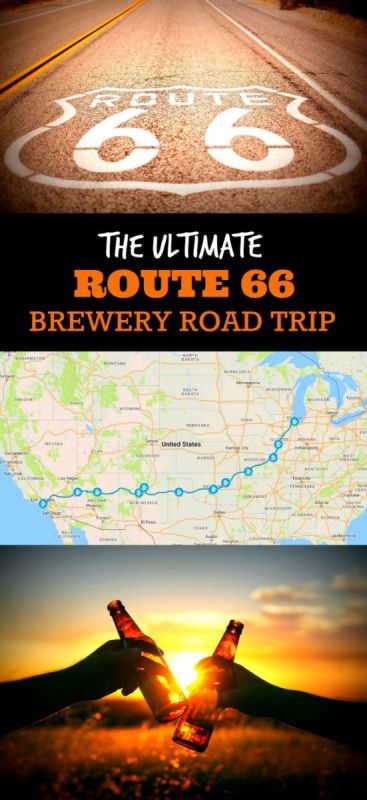 Put a twist on the classic Route 66! Quench your thirst for adventure, mystery and beer on this Route 66 Brewery Road Trip!