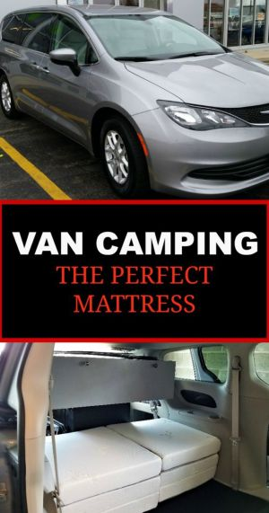 Are you turning your van into a campervan? Your first priority should be comfortable sleeping arrangements. Here is the perfect van camping mattress!